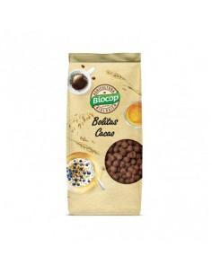Bolitas crujientes de cereales con chocolate bio Biocop