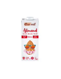 Lecha de almendra Bio sin azúcar Ecomil