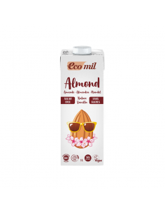 Bebida de almendra nature vainilla bio sin azucar 1l Ecomil