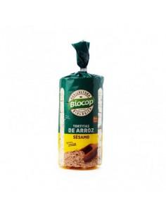 Tortitas de Arroz y Sesamo Bio Biocop 200g