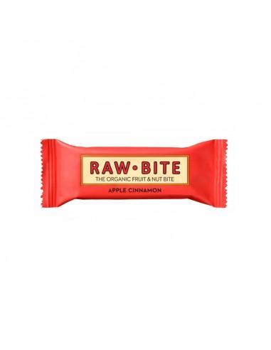Barrita Manzana y Canela Ecológica Raw-Bite 50g