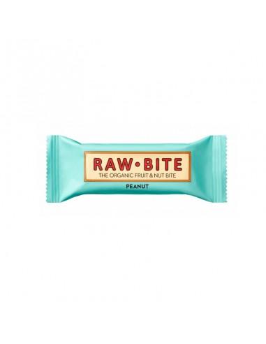 Barrita Cacahuete Ecológica Raw-Bite 50g