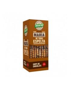Galleta María de Trigo Espelta con Chips de Chocolate bio 177g Biocop