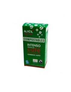 Cápsulas Compostables de Café Intenso Bio Alternativa3