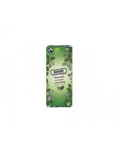 Chocolate ecológico crudivegano a la menta 60g Rawr