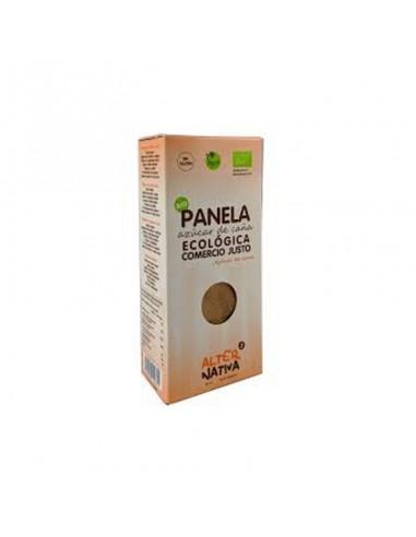 Azúcar de caña panela ecológica Comercio Justo Alternativa3 400g