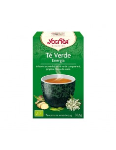 Yogi Tea Verde Energía Bio