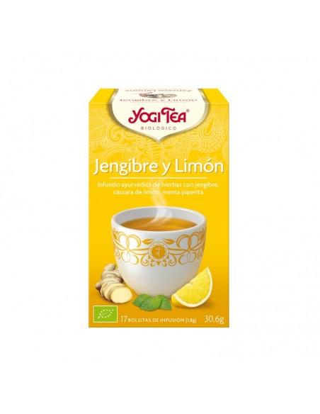 Yogi Tea Jengibre Limón Bio