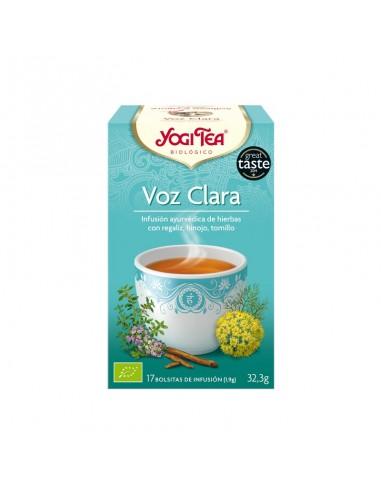 Té Yogi Voz Clara Bio
