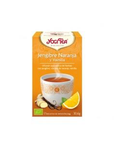 Yogi Tea Bio Jengibre, Naranja y Vainilla