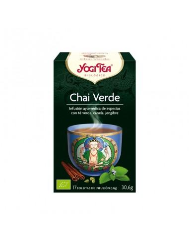 Té Yogi Chai Verde Bio