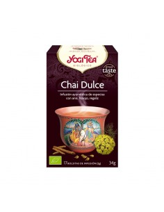 Té Yogi Chai Dulce Bio