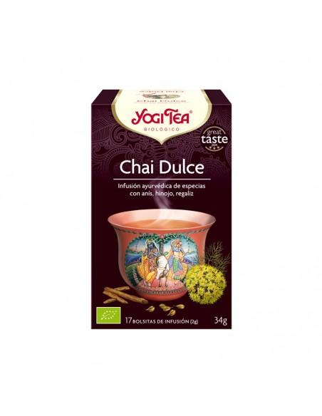 Yogi Tea Chai Dulce Bio