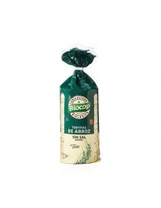 Tortitas de Arroz Sin Sal Bio Biocop