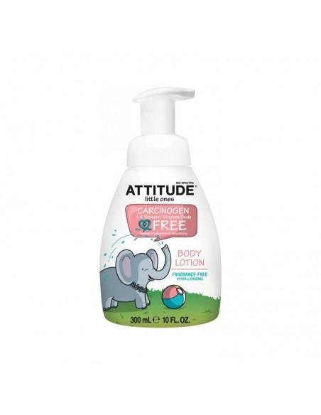 Loción Corporal para Niños Sin Perfume Attitude