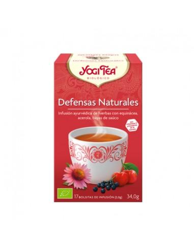 Yogi Tea Defensas Naturales ecológico