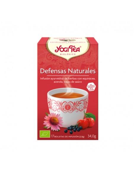 Yogi Tea Bio Defensas Naturales