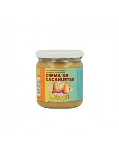 Crema de cacahuete bio Monki