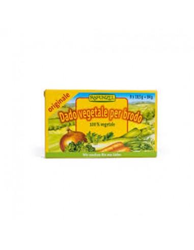 Caldo de verduras en cubitos bio Rapunzel