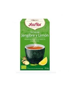Yogi Tea Té Verde bio Jengibre-limón