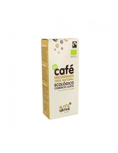 Café Descafeínado Molido de Comercio Justo Alternativa3