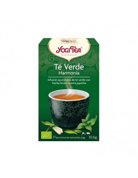 Yogi Tea Té Verde Harmonía Bio