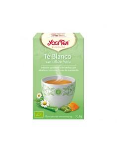 Yogi Tea Té Blanco Aloe Vera Bio