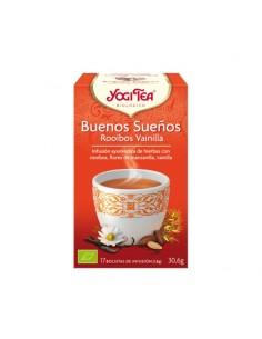 Yogi Tea Buenos Sueños Rooibos Vainilla Bio