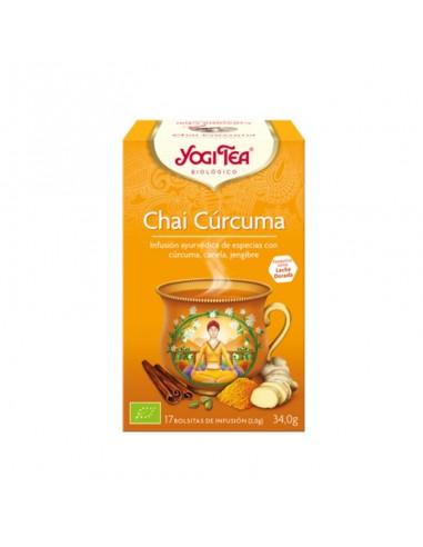 Yogi Tea Chai Cúrcuma Bio