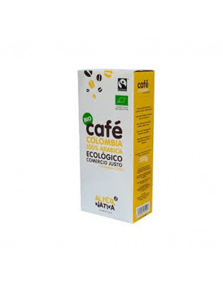 Café Molido Colombia bio de Comercio Justo Alternativa3