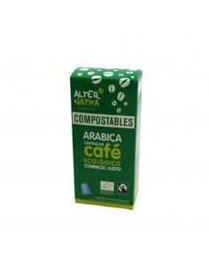 Cápsulas Compostables de Café Arábica bio Alternativa3