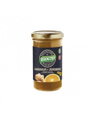 Compota de naranja con jengibre bio Biocop