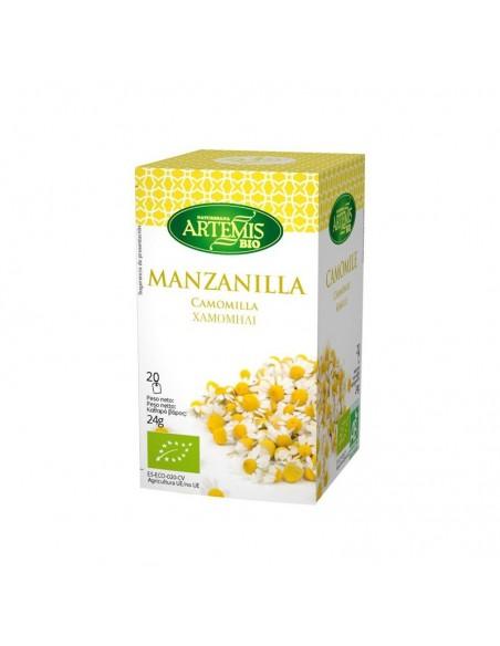 Manzanilla Infusión Eco Artemis 20 Filtros