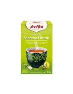 Yogi Tea Té Verde Matcha Limón Bio