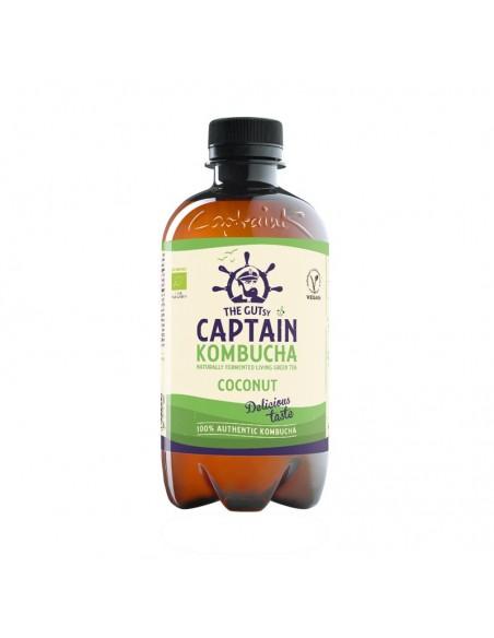 Bebida de Kombucha bio Coconut Summer Beach Captain Kombucha