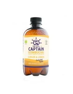 Bebida de Kombucha bio Ginger Lemon Captain Kombucha
