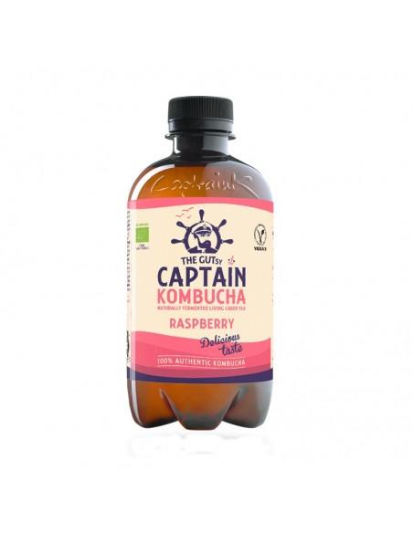 Bebida de Kombucha Bio California Raspberry Captain Kombucha